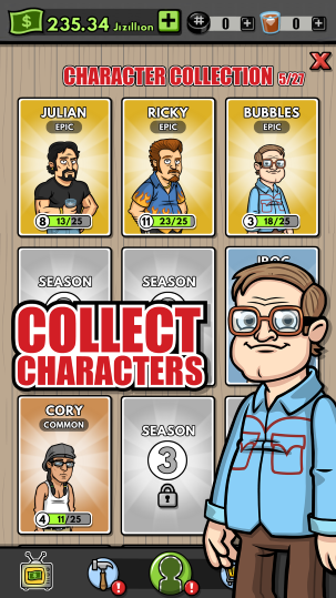 Trailer Park Boys Greasy Money Screen Collect Characters