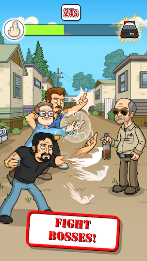 Trailer Park Boys Greasy Money Screen Boss Fight
