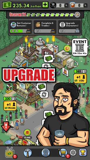 Trailer Park Boys Greasy Money Screen Upgrade Sunnyvale